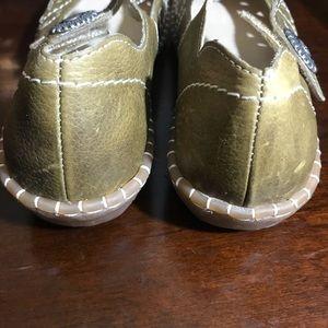 Rieker Antistress Mary Jane Antique Gold ish 39